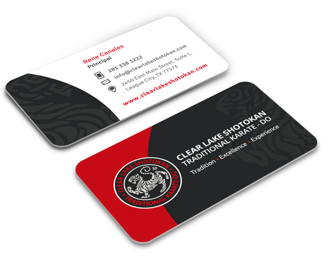 ClearLakeShotokan Business Cards