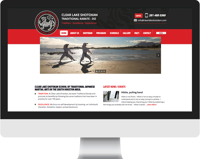 Clear Lake Shotokan home page