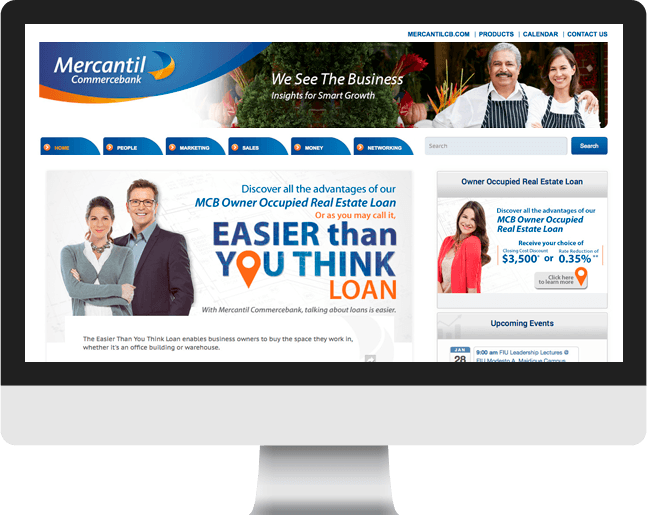 mercantil home page slider